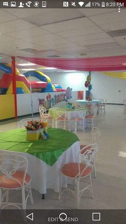 Salon infantil Funland!!!! todo en un solo lugar!!!