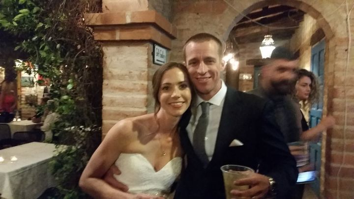 I DJ'd a really awesome wedding for Karen and Jake last night at Tohono Chul Park. This wonderful bride and groom were n...