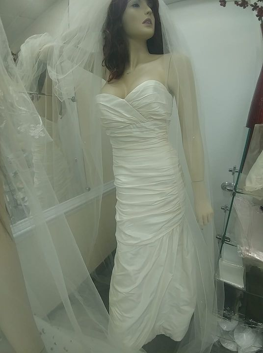 Today I had my first same s*x bride.She was a happy bride to work with.If you need wedding gown alteration. Call 703-433...