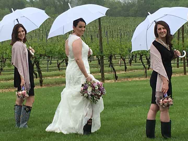 Parting Shots from Old House Vineyards, Culpeper, VA:  Free Spirit Floral was pleased to play a small role in Tiffany an...