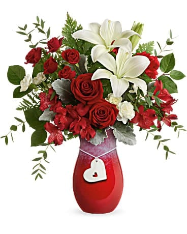 Its Valentines Day !!!   Call us today or click on link to order your Loved One some flowers.   www.bellsandbloomsnc.com...