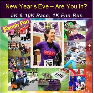 Setting up 2 of our favorite moon bounces for this awesome charity event!  Come jump and run with us New Year's Eve!