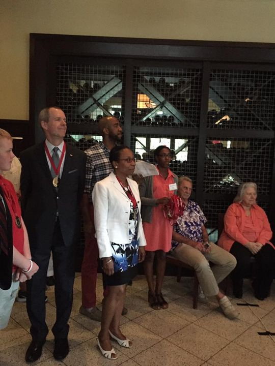 A good time was had by all at the celebratory reception held at the #IL Fornaio restaurant on Market Street, in Reston, ...