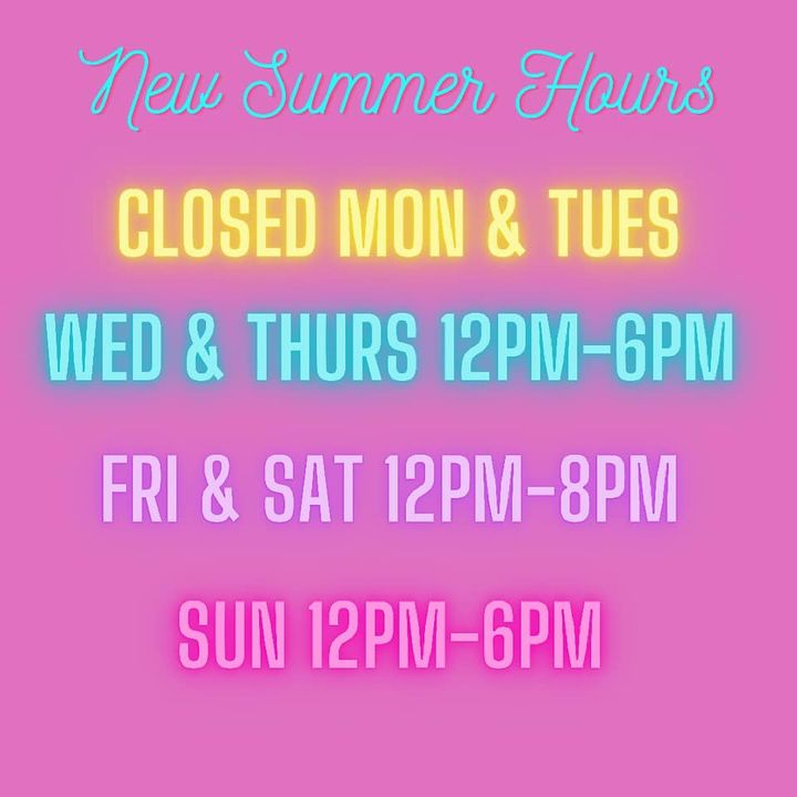 Don't forget we are now open till 8pm on Friday and Saturday! Don't forget to grab your favorite adult beverages to-go f...