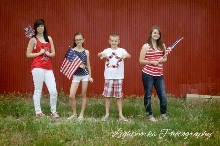 It is that time of year again. Time for you to get your family all dressed up in red, white and blue. Here is some of my...
