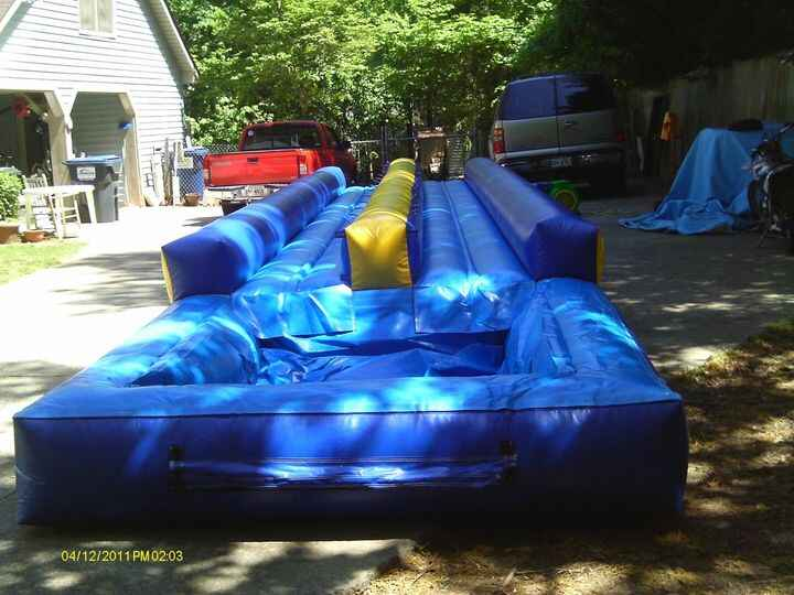 Waterslide season is coming to an end very fast! Check out our different waterslides, and book yours today! Mention our ...